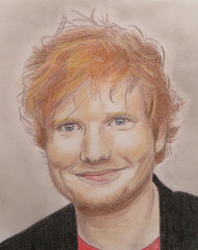 Ed Sheeran par Idgie